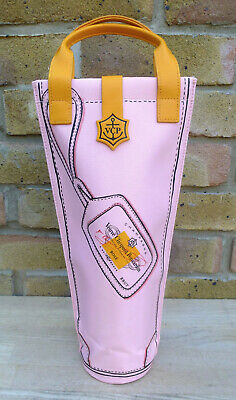 "Veuve Clicquot Insulated Champagne Cooler Bag - Ltd Edition ""Rose"" BRAND NEW"