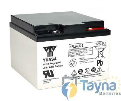 Yuasa NPL24-12 NPL-Series - Valve Regulated Lead Acid Batterie