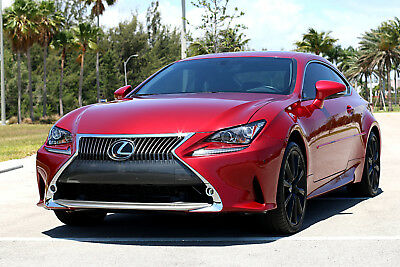 2015 Lexus RC ** LOADED! ONLY 26k MILES! 100% FEEDBACK ** 2015 Lexus RC350 Coupe AWD RC 2016 2014 BMW 4 series 435i 350 F Sport