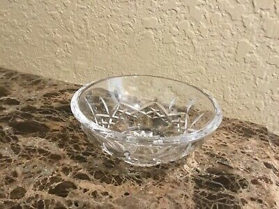"Waterford Crystal LISMORE 5.0"" BOWL - Candy Nut Fruit Salt etc.  Very useful!"