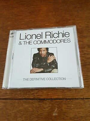 Lionel Richie & The Commodores : The Definitive Collection - 2 CD Set