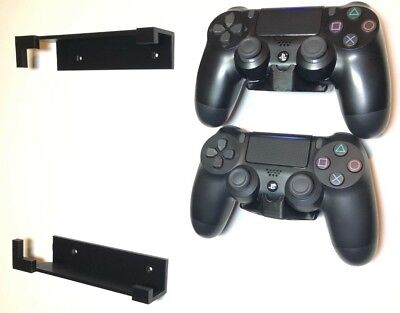 Wall Mount Brackets - PS4 Console & Controllers - MADE IN USA