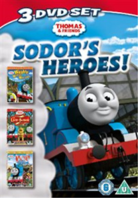 Thomas the Tank Engine and Friends: Sodor's Heroes (UK IMPORT) DVD NEW