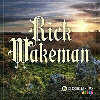 RICK WAKEMAN – 5 CLASSIC ALBUMS 5CDs (NEW) White Rock No Earthly Connection