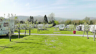 Seasonal Touring Caravan Pitch Fully Serviced, Abergavenny Monmouthshire