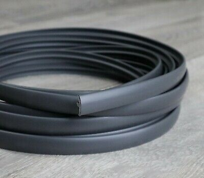 20 Metres Double Lipped Dark Grey T-Trim Knock On Edging - 15MM - Fast Post!