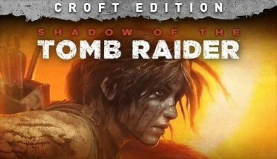 Shadow of the Tomb Raider Croft Edition STEAM PC READ DESCRIPTION 2018..