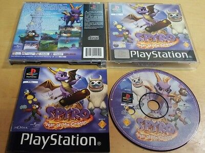 SPYRO YEAR OF THE DRAGON for SONY PLAYSTATION 1 PS1 COMPLETE