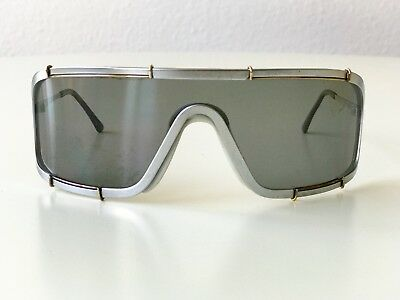 6f7aee807c vintage BOEING by Carrera 5708 silver shield rare sunglasses Germany 5703  80s