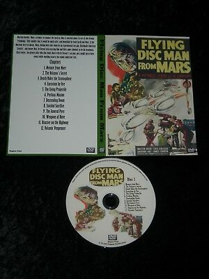 Classic Sci-Fi Cliffhanger Serial - Flying Disc Man From Mars
