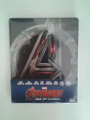 Avengers - Age of Ultron - Limited Edition (Blu-Ray 3D + Blu-Ray Disc - Steelboo