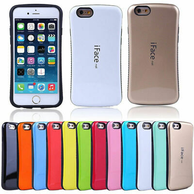 iFace Gel Shock-Absorbing Shockproof Bumper Cover Case iPhone And Samsung