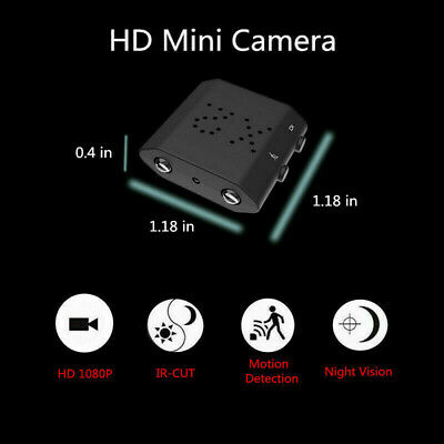 Mini Nascosta Spia Telecamera IP Full HD Infrarossi DV Micro Spy Video Camera