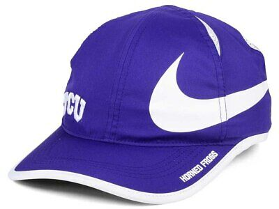new styles 9cf21 4a240 Texas Christian Horned Frogs Nike NCAA Big Swoosh Cap Dri-Fit Featherlight  Hat