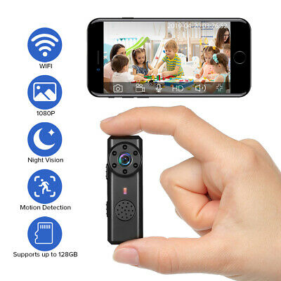 Mini Spy Telecamera Full HD IP Wireless Wifi Spia Nascosta Video Micro Camera DV