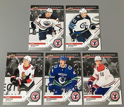 2019 Upper Deck National Hockey Card Day Complete Set 1-17, Pettersson Rookie+++