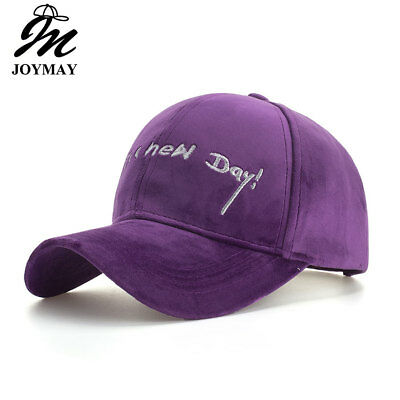 AKIZON Autumn Winter Baseball Cap IT'S A NEW DAY Embroidery Snapback HAT B574