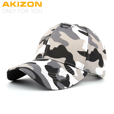 AKIZON  Spring Summer New Unisex Couple Camouflage Baseball cap Adjustable