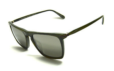 d5c6a525c2 New Oliver Peoples Sunglasses Rue De Sevres Col. Green + Grey Goldtone  Lenses