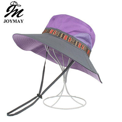 AKIZON Summer Bucket Hats Fishing Wide Brim Hat UV Protection Cap Woman Hiking