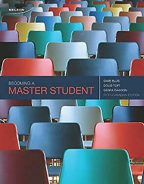 Becoming a Master Student by Ellis
