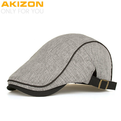 AKIZON 2018 New Arrival Spring Summer Berets Caps High quality Unisex Casual