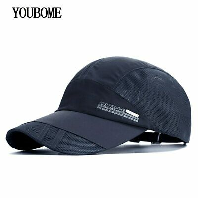 f2378bb5e AKIZON Men Baseball Cap Brand Snapback Caps Women Hats For Men Summer Mesh