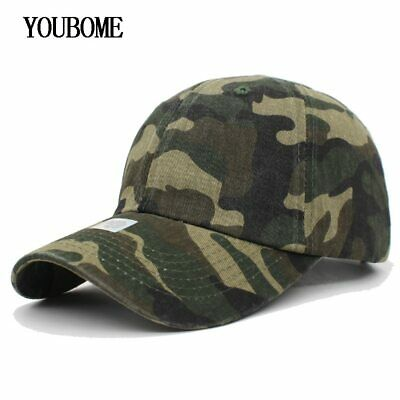 AKIZON 100% Cotton Camouflage Baseball Cap Women Snapback Caps Hats For Men 04a7e57ce6df