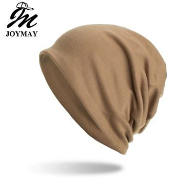 AKIZON New arrival Winter Autumn Beanies Hat Unisex Solid color Warm Soft 3 use