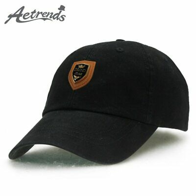 5d38b6b56 [AKIZON] Cotton cap luxury brand a hat men women baseball caps with logo