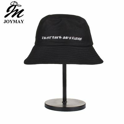 AKIZON 2018 High quality Fashion New Arrival Spring unisex Cotton Bucket Hat Do
