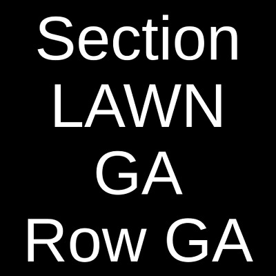 2 Tickets Gary Clark Jr. 9/11/19 Chateau Ste Michelle Winery Woodinville, WA