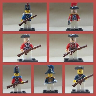Civil War Army Action Soldier Troopers Mini Figures use with lego Super Heroes