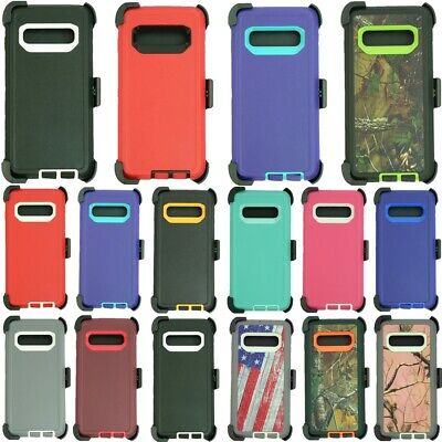 For Samsung Galaxy S10e /S10 /S10+Plus Defender Case Cover w/Clip Fits Otterbox