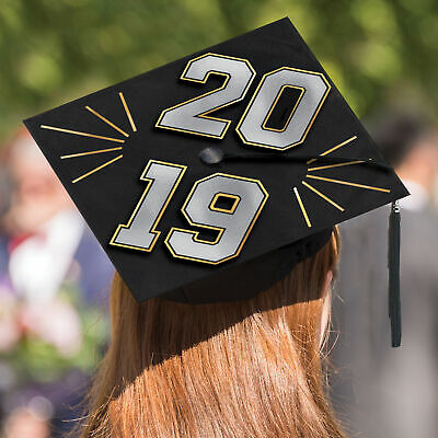 2019 Graduation Grad Cap Decorating Kit