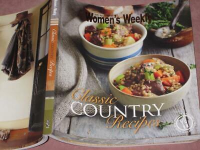 Australian Womens Weekly cookbook CLASSIC  COUNTRY RECIPES FAVOURITES 110 PAGES