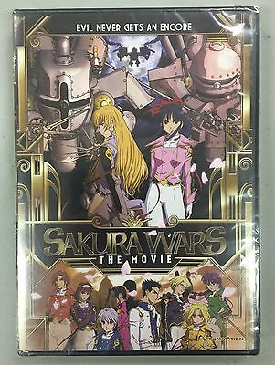 SAKURA WARS THE MOVIE DVD new sealed funimation CANADA SELLER