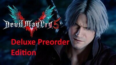 Devil May Cry 5 Deluxe Edition STEAM PC +  Buy one get one free Bonus READ ALL.