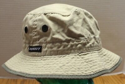 Mens Old Navy Bucket Hat Size S/m Chin Cinch Khaki Very Good Condition