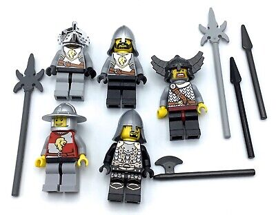 Building Toys Lego Castle Knight Minifig Accessory Weapons Spears