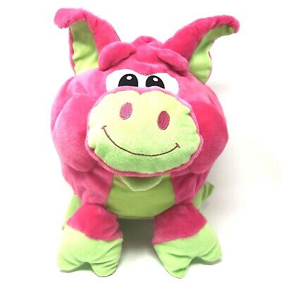 PEEK-A-BOO TOYS Cute Soft Plush Caterpillar Toy Pink /& Black New with Tags !