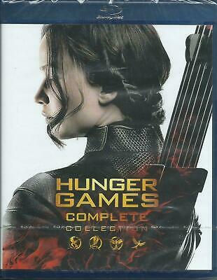 Blu Ray Hunger Games Complete Collection  Nuovo  No Edicola