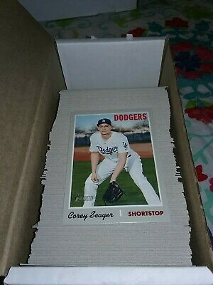 2019 Topps Heritage Baseball Card Singles - Create Own Lot #1 to #202 Base Cards