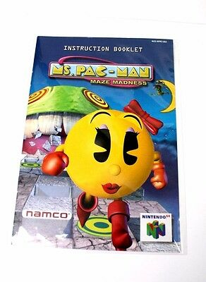 ms pac man n64
