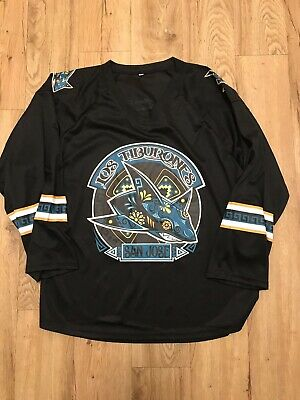 super popular dee12 f7c1f SAN JOSE SHARKS LOS TIBURONES Jersey Size Medium 2018 SGA ...