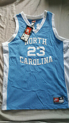 brand new 8254a 536b7 UNC RARE VINTAGE Authentic Nike Michael Jordan North Carolina Jersey NWT