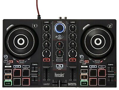 Hercules DJControl Inpulse 200 - DJ Controller w/ Intelligent Music Assistant