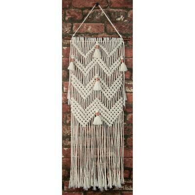 Birch MACRAME Wall Hanging Kit CHEVRON & TASSLES 30x80cm MWH004 Knotting/Weaving