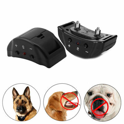 Anti Bark No Barking Remote Electric Shock Vibration Dog Pet Training Collar LN