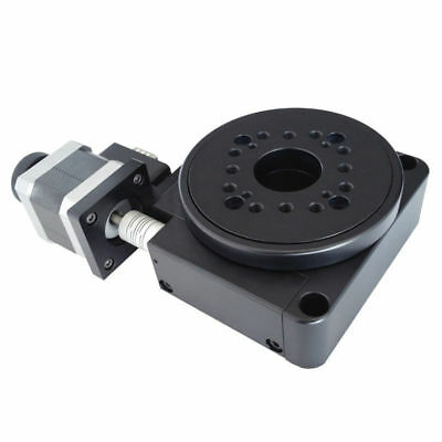 100mm Electric Rotating Platform Motorized Precision Rotray Stage Table Diameter